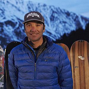 Javi Barro from Gaiur Compañía de Snowboard